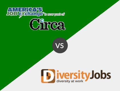 America's Job Exchange vs. DiversityJobs.com