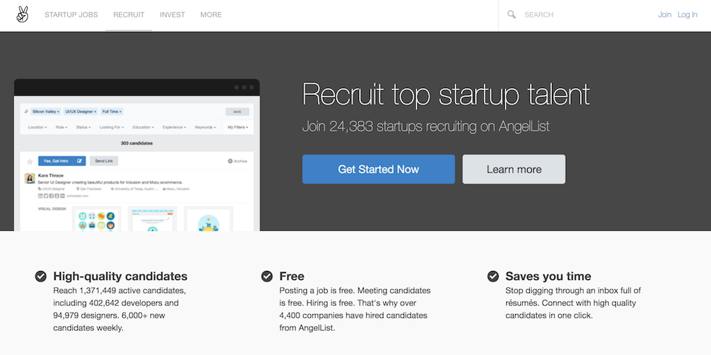 Angellist Recruiting