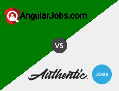 AngularJobs.com vs. Authentic Jobs