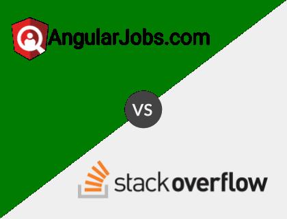 AngularJobs.com vs. Stack Overflow