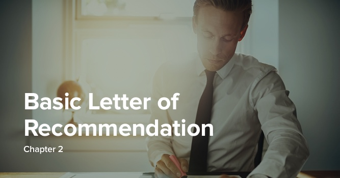 How To Write A Letter Of Recommendation Fast And Easy Templates