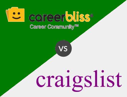 CareerBliss vs. Craigslist