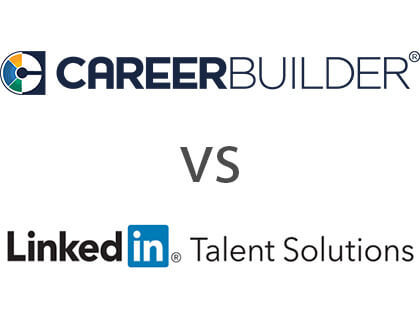 Careerbuilder vs. Linkedin Talent