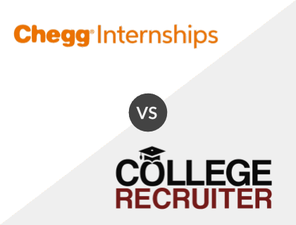 Chegg Internships vs. College Recruiter