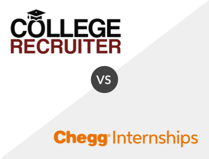 College Recruiter vs. Chegg Internships