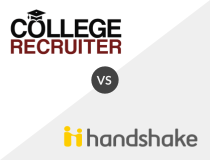 College Recruiter vs. Handshake
