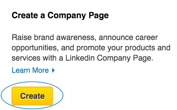 how to write a good linkedin company page
