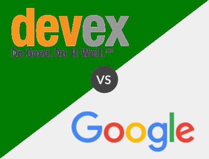 Devex vs. Google for Jobs