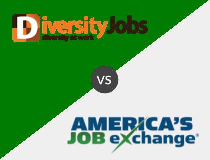 DiversityJobs vs. America's Job Exchange