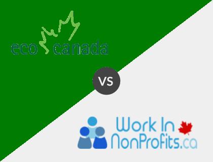 ECO Canada vs. Work in Non-Profits.ca