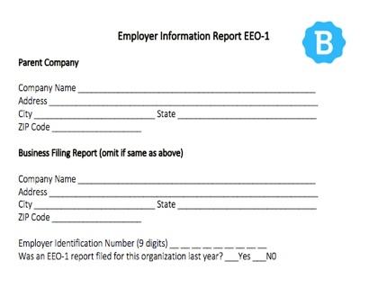 Eeo-1 Report