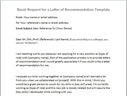 Request For Letter Of Recommendation Sample from www.betterteam.com
