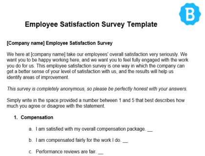 Employee Satisfaction Survey Download Image 20190503 Docx