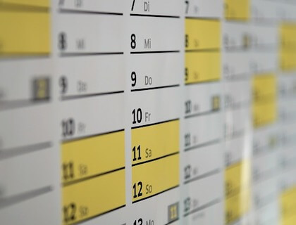 Employee Schedule Template Free Instant Downloads