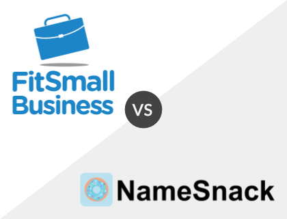 Fit Small Business vs. NameSnack
