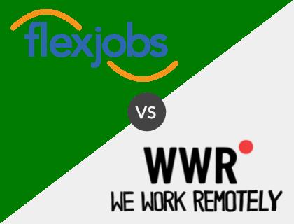 Flexjobs vs. WeWorkRemotely