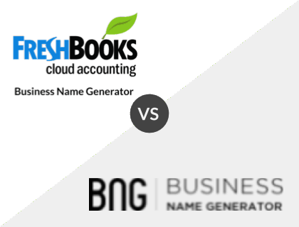 FreshBooks vs. Business Name Generator
