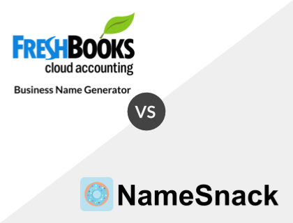 FreshBooks vs. NameSnack
