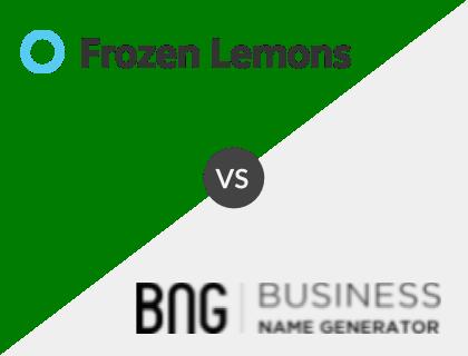 Frozen Lemons vs. Business Name Generator