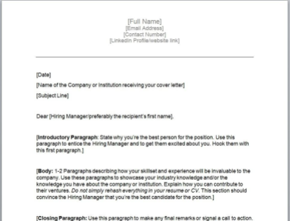 How to Write a Cover Letter With Easy Examples