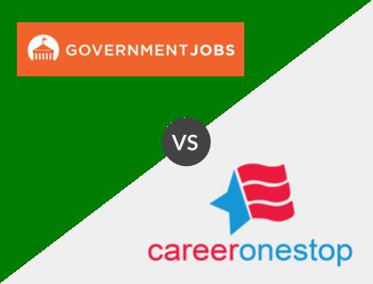 GovernmentJobs.com vs. CareerOneStop
