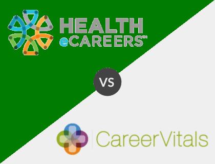 Health eCareers vs. CareerVitals