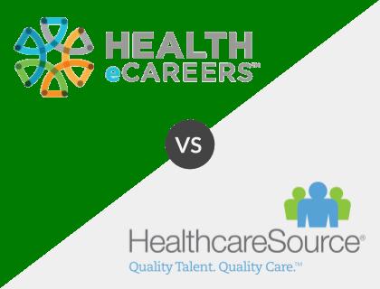 Health eCareers vs. Healthcare Source