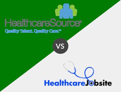 HealthcareSource vs. HealthcareJobSite
