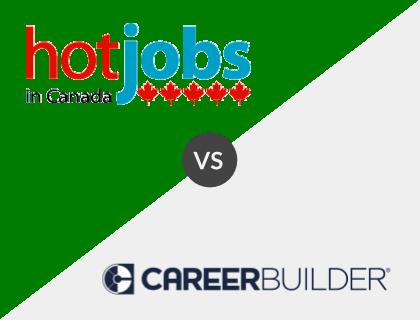 Hot Jobs in Canada vs. CareerBuilder