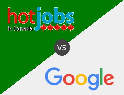 Hot Jobs in Canada vs. Google for Jobs