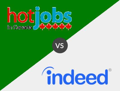 Hot Jobs in Canada vs. Indeed Canada