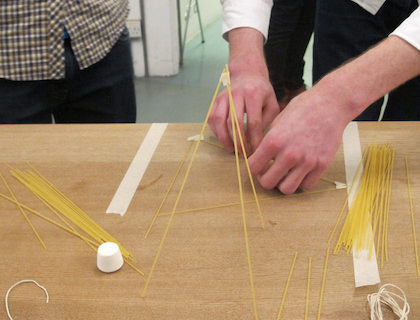 How To Play The Marshmallow Challenge