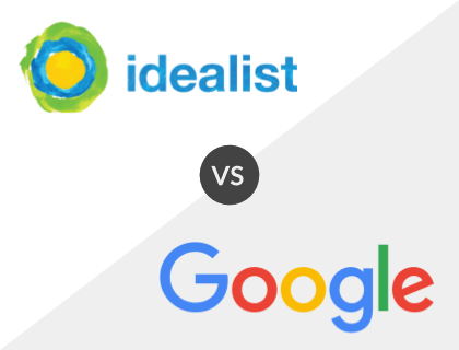 Idealist vs. Google for Jobs