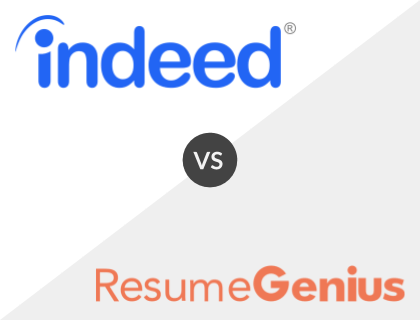 Indeed vs Resume Genius