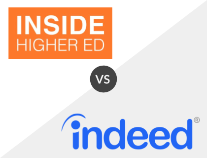Inside Higher Ed vs. Indeed