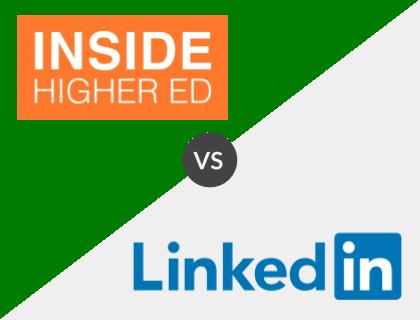 Inside Higher Ed vs. LinkedIn