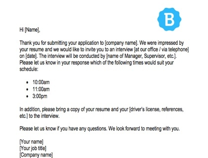 interview request email sample template free download