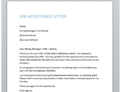 Rejecting A Job Offer After Signing The Offer Letter from www.betterteam.com
