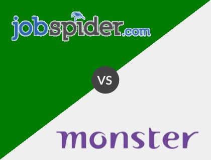 Job Spider vs. Monster