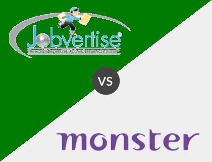 Jobvertise vs. Monster
