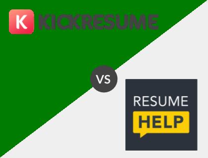 Kickresume vs. ResumeHelp