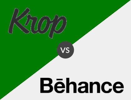 Krop vs. Behance