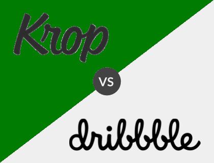 Krop vs. Dribbble