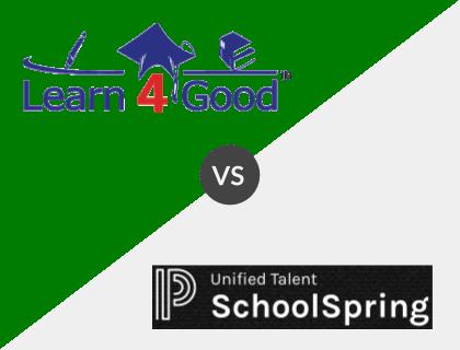 Learn4Good vs. SchoolSpring