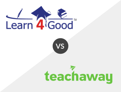 Learn4Good vs. Teach Away
