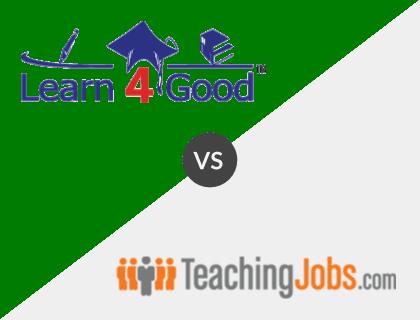 Learn4Good vs. TeachingJobs.com
