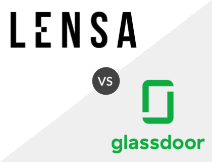 Lensa vs. Glassdoor