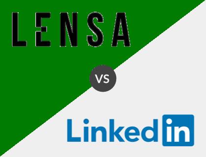 Lensa vs. LinkedIn