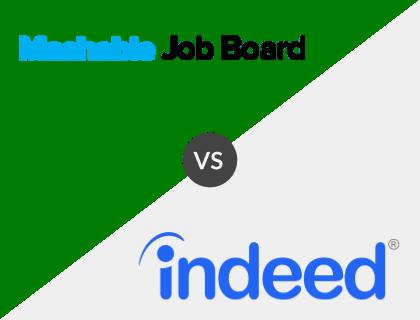 Mashable Job Board vs. Indeed