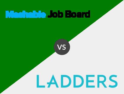Mashable Job Board vs. Ladders